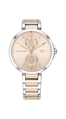 Tommy Hilfiger Damen Analog Quarz Uhr mit Edelstahl Armband 1782127 - Uhren Movado Damen