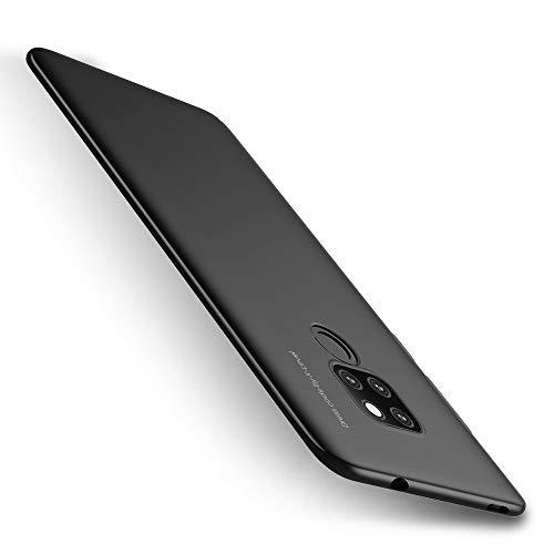 X-level Huawei Mate 20 Hülle, [Kinght Serie] Hart Handlich Premium PC Material Gutes Gefühl Handyhülle Schutzhülle für Huawei Mate 20 Case Cover - Schwarz Key-mate Light
