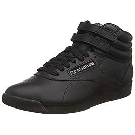 Reebok Freestyle Hi, Pantofole Donna