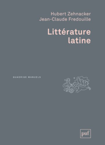 Littérature latine par Hubert Zehnacker