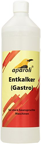 Preisvergleich Produktbild Aparoli Gastro, Entkalker, 1 L für stark beanspruchte, hochwertige Kaffeemaschinen und Vollautomaten, 341378