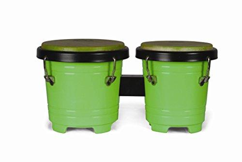 Extreme bg4255-gr doppelte Bongos aus Holz echt Leder Mechanische Stimmung Farbe Grün