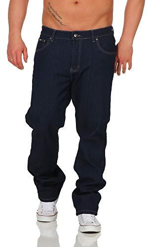 BEZLIT Herren Thermo-Hose Jeans-Hose Stretch Winter-Hosen gefüttert Regular Fit 22893 40 Navy
