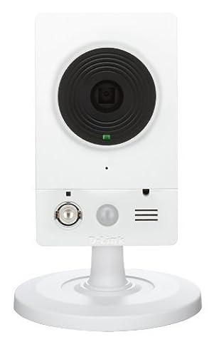 D-Link - DCS-2132L - Caméra IP réseau HD jour/nuit mydlink Cloud - Blanc/Noir