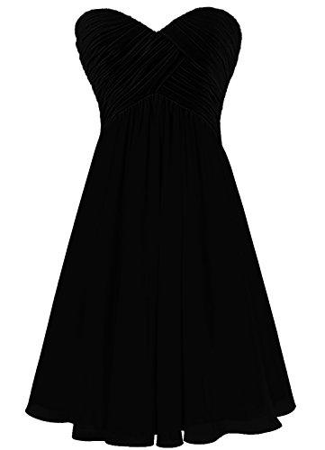 Find Dress Femme Sexy Robe de Soirée/Cocktail/Cérémonie Robe Col en Cœur Lacet sans Manches Courte en Mousseline de Soie Champagne