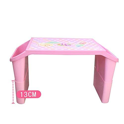 fu matten treppenstufen QTQZ Um Stühle zu schicken, Spielen Kinder Brisk- Tischchen Babytisch und Stuuml; HLE Plastik Anpassung Baby Lernen Tisch Spielzeug Tisch (Farbe: Blau-22CM)