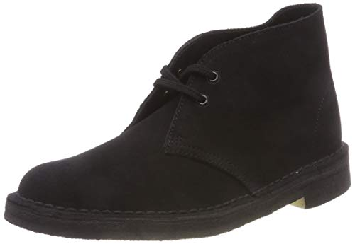 Clarks desert boot, stivali chukka uomo, nero (black), 43