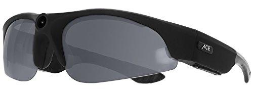ACE View 2.0 | 1080p Full-HD Actioncam-Brille | Robuste Brille mit Verstellbarer Action-Kamera für Videos | Perfekt für Sportler