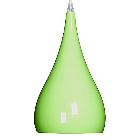 Modern Designer Pendant Light Ceiling Lighting Restaurant Pendant Lamp Teardrop Shape 1 Light E27 Base