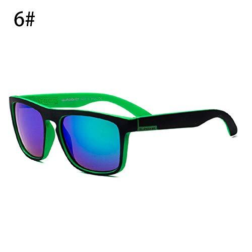 Rvest UV Schutz Radfahren Sonnenbrillen Wayfarer Sonnenbrillen Farbe Schalter Modische Unisex Sunny Places Strände Radfahren Paddel für Männer Frauen Outdoor Sports
