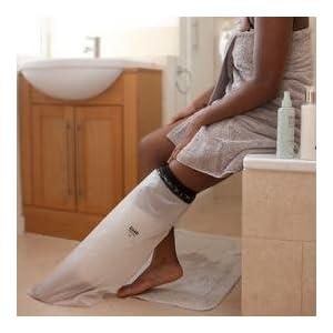 LIMBO Dusch- und Badeschutz für das halbe Bein, knielang, Erwachsene, schmal, M76