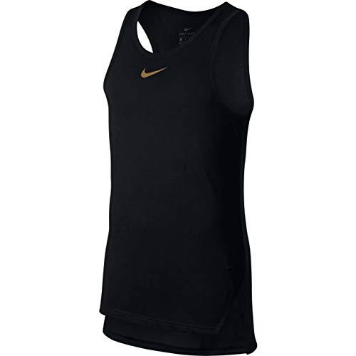 Nike Herren Breathe Tank-Shirt, schwarz (Black/Elemental Gold), M (Schwarz Und Gold-shirt Von Nike)