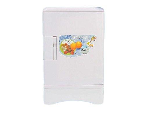 XW Auto Kühlschrank Mini Niedlichen Kühlschrank , White,white