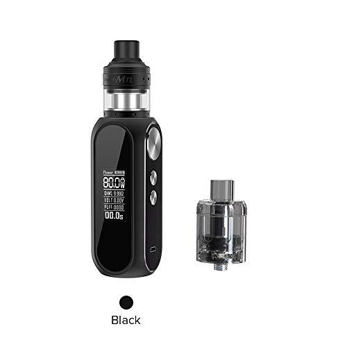 OBS Cube MTL Kit, Obs Cube Mod und Engine MTL Verdampfer-E Zigarette Vape Kein Nikotin und Tabak (Schwarz)