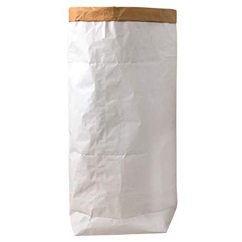 95 Grad Saco Papel Kraft Bolsa Papel Ropa Sucia Blanco