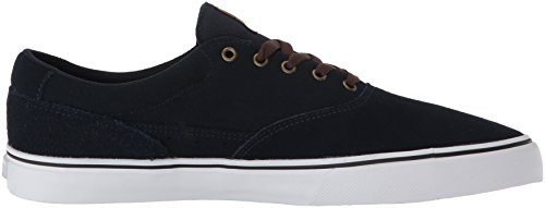Emerica Provost Slim Vulc X Toy Machine, Herren Skateboardschuhe Navy/white/gum