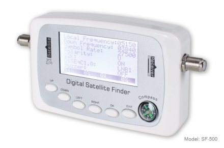 FTA DVB-S2 HD Digital satellite finder meter
