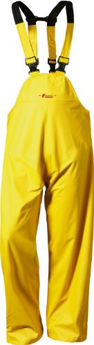 NORWAY PU Arbeits-Latzhose - gelb - Größe: XL