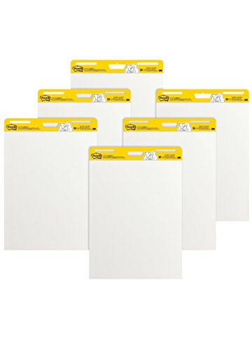 Post-it 559 VAD 6 PK 63.5cm x 77.5cm Super Sticky Meeting Flip Chart Pads (Pack of 6) - Best Price