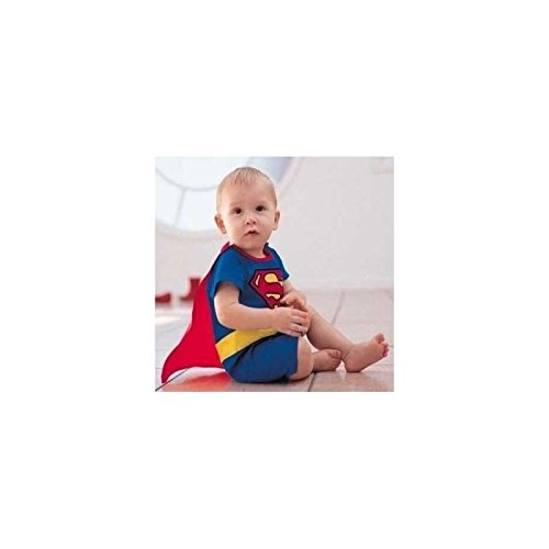 Monat 18 Kostüm Superman (Superman, Kostüm, Halt Innen Baby 6bis 24Monate (A) 6/9Monate, 12/18monate, 18/24monate,)