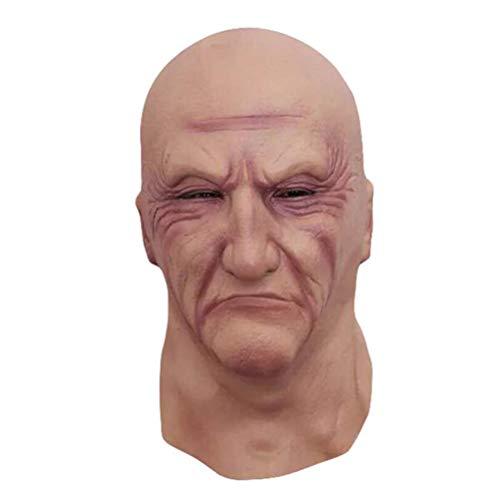reepy Old Man Maske Promi Latexpartys Cosplay Kostüm Parteien ()