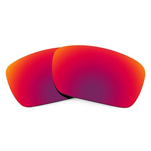 Verres de rechange pour Oakley Fuel Cell — Plusieurs options Soleil de Minuit MirrorShield® - Polarisés
