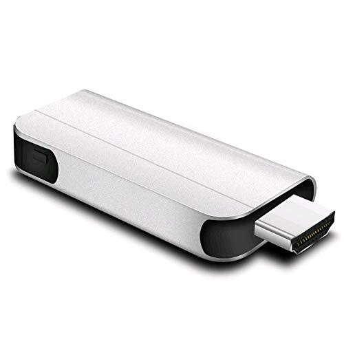 Preisvergleich Produktbild MXLS Bildschirm TV Stick HDMI Anycast Miracast DLNA Airplay WiFi Display Receiver Dongle Support Windows Andriod IOS TVSK2, Silvergray [Energy Class A]