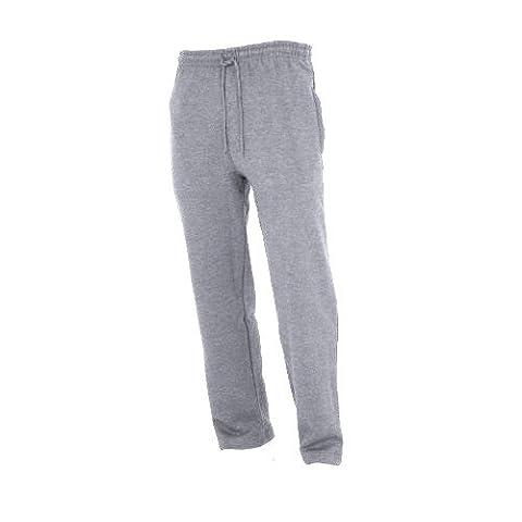 Floso - Pantalon de jogging (bas non-élastiqué) - Garçon (9-10 ans) (Gris)