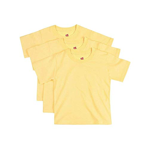 Hanes by ComfortSoft Toddler Crewneck T-Shirt 3-Pack -