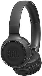 JBL Tune500BT On-Ear Bluetooth-Kopfhörer in Schwarz, Faltbarer, kabelloser Ohrhörer mit integriertem Headset, Musik Streaming bis zu 16 Stunden mit nur einer Akku-Ladung