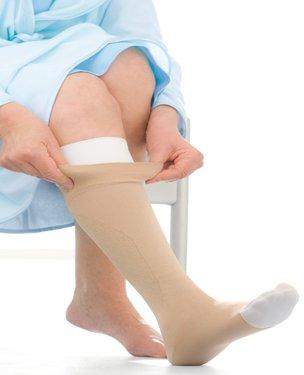 Jobst UlcerCare Therapeutische Strümpfe ohne zipper22