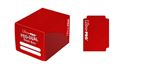 Ultra Pro 82983 - Deck Box - Dual Small, rot -