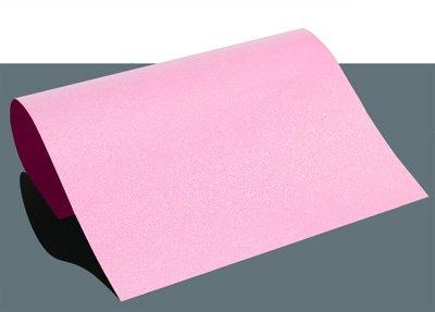 GlitzerFlex Bügelfolie mit Glitzereffekt A4, Farbe:Pink