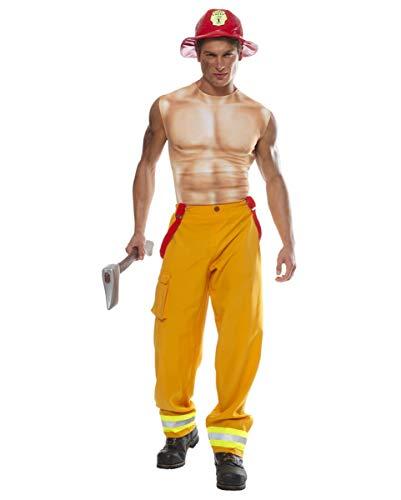Supersexy Kostüm - Horror-Shop Feuerwehrmann Kostüm