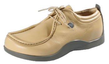 FOOTPRINTS Merida-Chaussures à lacets en cuir pour femme - beige - beige, 38 Normal EU