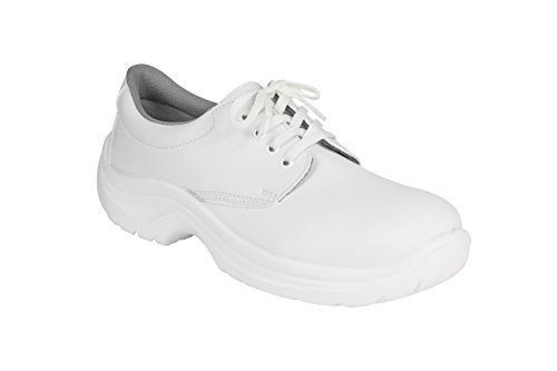 AWC eCO sAFE chaussures 23352 arbeitschnürschuhe avec renfort en acier Blanc - blanc