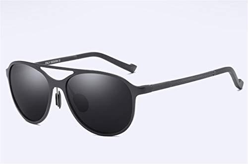 YINshop Sonnenbrille, HD polarisierte Aluminiummagnesiumlegierung-volle Rahmen-Unisex für das Fahren der Fischen-Reise A