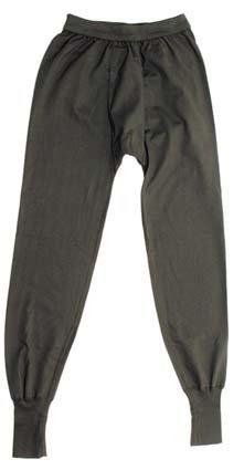 Bundeswehr Unterhose, lang, oliv, Größe 10