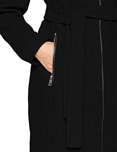 VERO MODA Damen Mantel VMBESSY Class 3/4 Wool Jacket NOOS, Schwarz Black, 36 (Herstellergröße: S) - 6