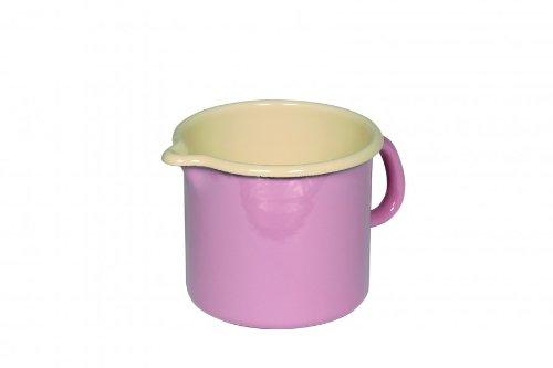 riess-schnabeltopf-kochtopf-topf-milchtopf-1-liter-oe-12-cm-farbe-rose-emaille