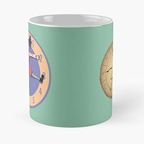 Gravity Falls Bill Cipher Big Comfy Couch Loonette Exercise Wheel - Best 11 oz Kaffee-Becher - Tasse Kaffee Motive