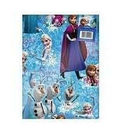 Papier Cadeau La Reine des Neiges