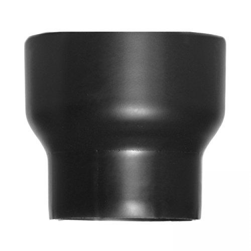 raik SH013-021-sw Rauchrohr / Ofenrohr Erweiterung 150mm -200mm schwarz