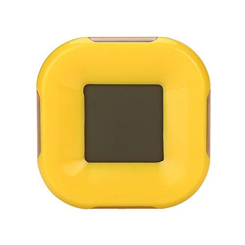 Kicode TOPmountain LED Réverbère réveil numérique Calendrier Compte à rebours Affichage du thermomètre Maison Cuisine Décoration Multi Fonction Provisions