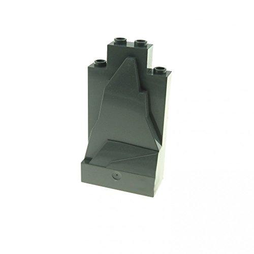 Preisvergleich Produktbild LEGO - 1 grauer Felsen Stein Berg klein dunkelgrau Burg Castle 47847