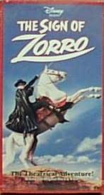 The Sign of Zorro [VHS]