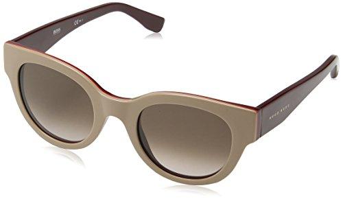 BOSS Hugo Damen 0888/S K8 0U0 Sonnenbrille, Rot (Nude Red Burgun/Brown Sf), 49