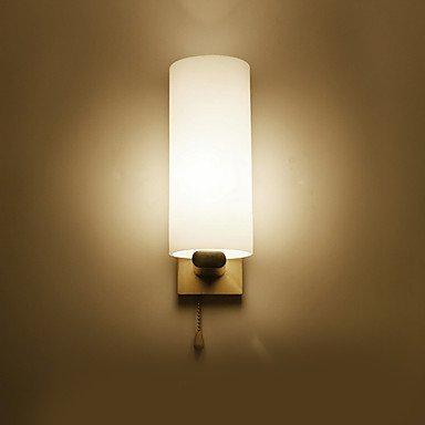 YYHAOGE Protection Des Yeux Simple Vintage Pour La Chambre Bambou/Bois Lumière Murale 220V 40W