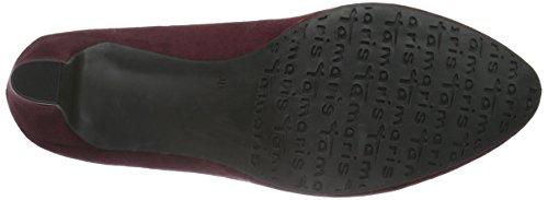 Tamaris 22418, Scarpe con Tacco Donna, Nero Rosso (VINE 558)