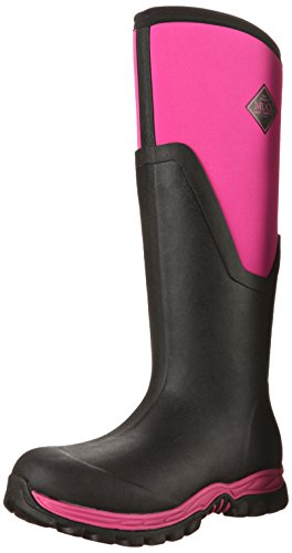 Preisvergleich Produktbild Muck Boot Arctic Sport II Tall Waterproof Insulated Rubber Boots Black Pink W11 US